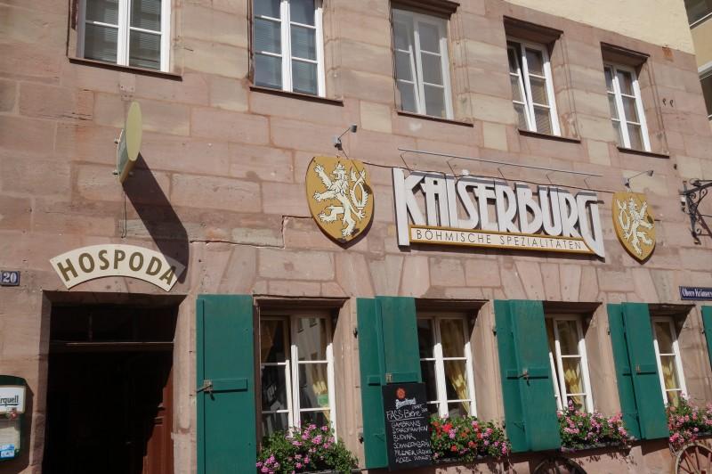 kaiserburg in 90403 n rnberg restaurant regionale k che wirtshausfreunde. Black Bedroom Furniture Sets. Home Design Ideas