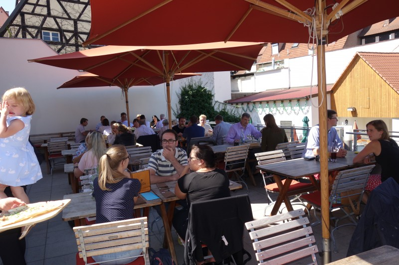 eckerts in 96049 bamberg biergarten restaurant regionale k che terrasse wirtshausfreunde. Black Bedroom Furniture Sets. Home Design Ideas