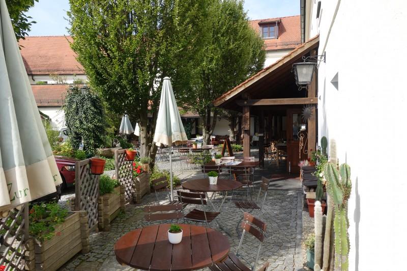 Gasthof Zur Post In 93444 Bad K 246 Tzting Biergarten